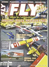 FLY N°158 PLAN : DEPRON'AD / IFS GRAUPNER / CESSNA 182 / SHADOW / POWERPEAK
