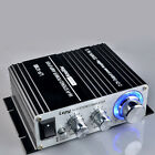 700W 12V Mini Hi-Fi Stereo Digital Amplifier For MP3 iPod Home + Power Adapter C