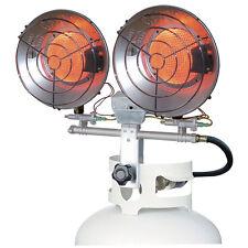 Propane Space Heater 32,000-BTU Portable Tank Top Steel Indoor Outdoor Heating