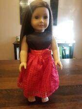 American Girl Doll Brown Hair Green Eyes Freckles