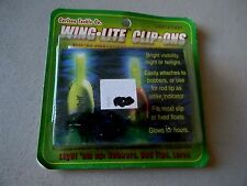 Wing Lite Clip On- Carlson Tackle Company- Light Sticks for Bobber/Rod Tip