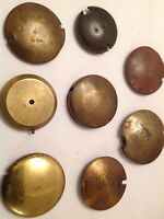 Antique French Clock And Other Pendulum Bobs 41-55mm Diameter Job Lot Ref 106