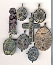 Cincin 19,Interesting Great lot 8 medals Spain Ctury XV and XVI