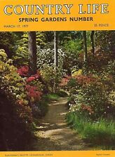 Country Life Magazine Spring Gardens 17 March 1977 Birthday Gift Born in 1977
