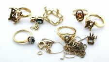 25.9 Grams Assorted Ring Pendant  Chain Finding Material 14Kt Gold Scrap GS1