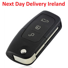 Uncut Replacement Blank Car Shell Key Fob 3Button for Ford Focus Fiesta C Max Ka