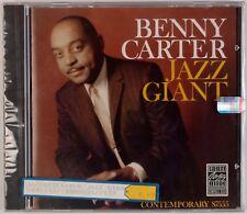 Benny Carter: Jazz Giant Sealed Usa Contemporary Jazz Cd Ojc 1987