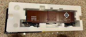 K-LINE by LIONEL 6-22290 ERIE BOX CAR w/ Hobo Graffiti Tags / NEW