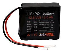 LiFePO4 Akku 12V 3 Ah mit BMS (Batterie Management System)