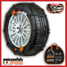 Weissenfels SUV RTS CLACK&GO Catene Neve Gruppo 5 - 1,3CM 195/80r15