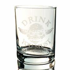 Designer Rocks Glass - Drink You Must