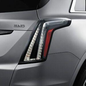 Factory Cadillac XT5 Taillight GM Clear Dark OEM Passenger Tail Light 84501566