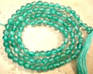 """Apatite 2mm-2.5mm Round Gemstone Beads 14.5"""" strand"""