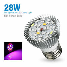1Ps 28W Full Spectrum E27 Led Grow Light Growing Lamp Light Bulb Flower Plant Us