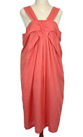 BNWT Inspyr Coral Sleeveless Lined Shift Dress Size 14 RRP99.95