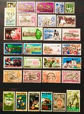 NIGERIA STAMP COLLECTION SOME SCARCE TAKEN FROM OLD ALBUMS LOT 02300919