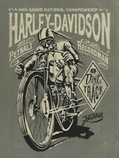 Harley Davidson Vintage Motorcycle Poster