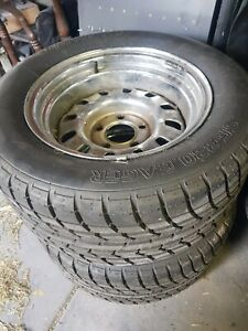 Ford 12 Slotters Wheels Tyres