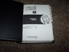 John Deere 710D Backhoe Loader Operation Test Shop Repair Service Manual TM1537