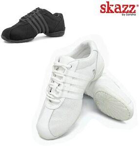 Women's Shoes SANSHA Skazz Dance Sneakers street jazz hip hop split sole 2.5 6 8