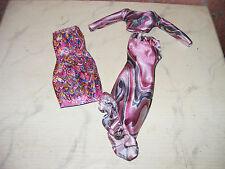 Paillettes-Soir-Robe-Rock - chemisier-Barbie-Petra-modeladen