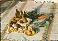 Postcard recipe kitchen emilie Bernard recipe of the raison d' état