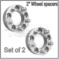 "2PC Wheel Spacers | 5x114.3 / 5x4.5 |1/2X20 | 2"" 50mm Adapters Ford Ranger X2"
