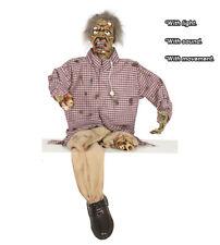 Halloween Mutilated Zombie Animatronic Prop Animated Horror Party Decoration
