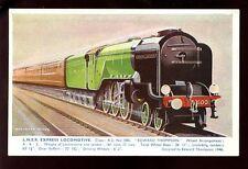 British Railways LNER class A2 Edward Thompson artist R Meyes drawn PPC