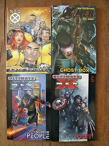 X-MEN 4-tpb set: New X-Men vol 1, Astonishing vol 5, Ultimate vol 1 & 5