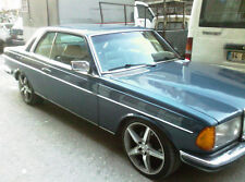 MERCEDES W123 COUPE OUTSIDE WINDOW SEALS PIECE NEW 230ce FREE SHIPPING