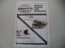 advertising Pubblicità 1976 CASCO BIEFFE HELMETS INTEGRALE X 2001/ 4001