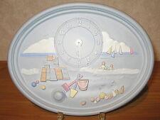 LAFOND CREATIONS *NEW* Horloge en grès décoré La Plage