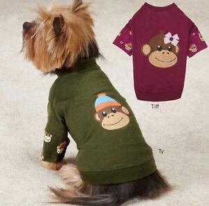 Monkey Business Mock T-Shirt Dog Tee East Side Collection XXS-XL Pet Top