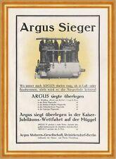 Argus moteurs société Berlin reinickendorf affiche Braunbeck moteur a3 567