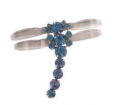 Wholesale Bulk Lot 6 Blue Rhinestone Iridescent Sparkle Dragonfly Brooches Pins