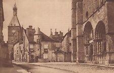 G2360 France - Avallon - Le portail roman de l'église St-Lazare - 1930 old print