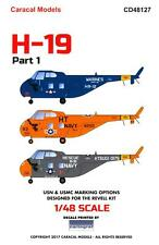 Caracal Decals 1/48 Sikorsky H-19 Chickasaw Helicopter Part 1