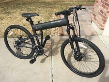 "Montague Paratrooper Pro 9-Speed Folding Mountain Bike 18"" Matte Black"