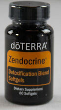 New doTerra ZENDOCRINE Detoxification Blend 60 Softgels CLEANSE Exp 12/2019