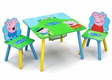 Delta Children Kids Table Chair Set Storage 2 Chairs Peppa Pig