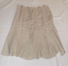 Calf Length Linen A-line Unbranded Skirts for Women