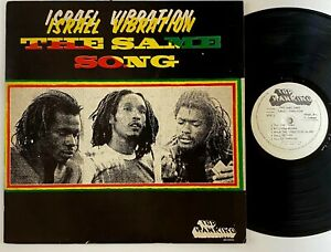 "Israel Vibration ""The Same Song"" Reggae LP Top Ranking"