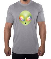 Trippy Eyed Alien Men's Tees, Nice Graphic Tees, Funny Men's Shirts!