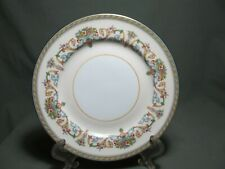 """Aynsley Henley Smooth Set of 2   6 3/8"""" Bread and Butter Plate(s) Green Logo"""