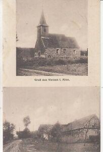 Carte Postale Saxe - Anhalt Gruß De Wietzen I. Altm