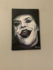 Joker Jack Nicholson  12x18  Pop Art Painting Chris Cargill
