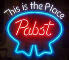 """Pabst Neon Sign """"This Is The Place"""""""
