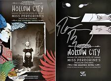 Ransom Riggs~SIGNED~Hollow City: Graphic Novel~1st/1st+Photos! Miss Peregrine's