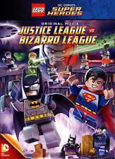 NEW LEGO DC Comics Super Heroes: Justice League vs. Bizarro League (DVD, 2015)